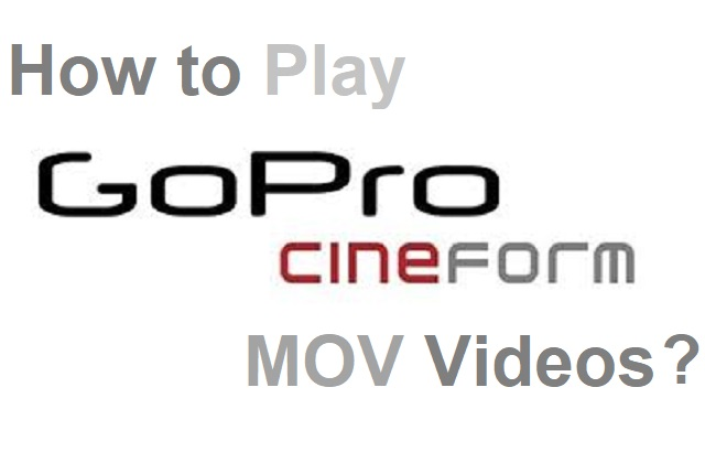 """vlc could not decode the format """"cfhd"""" (no description for this codec) How to play GoPro CineForm MOV Video Files? – Remo Repair Blog"""