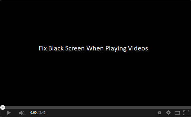 Black screen when playing videos, female fursuit anal
