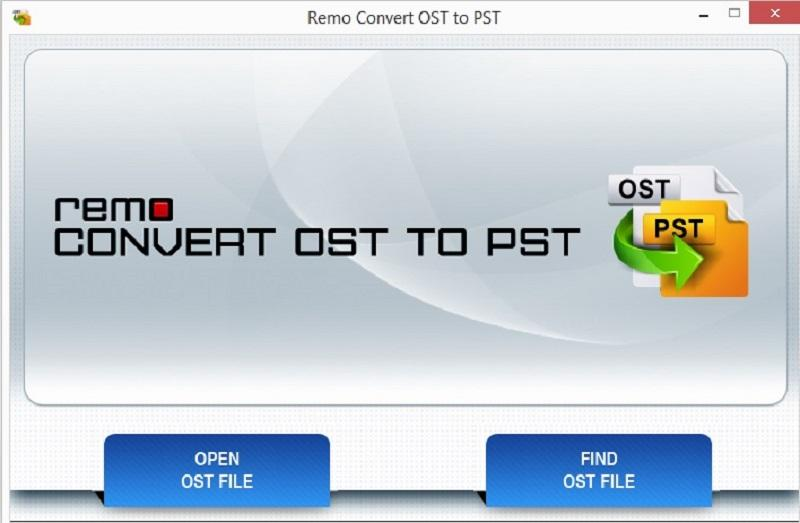 Remo OST to PST File Converter full screenshot