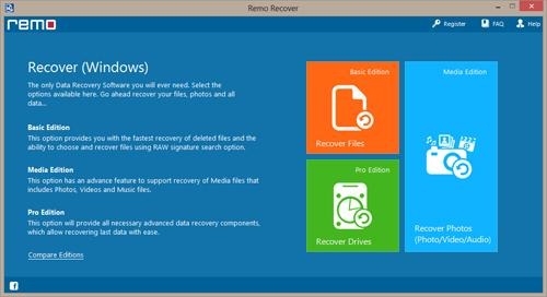 Use the software to recover permanently deleted files