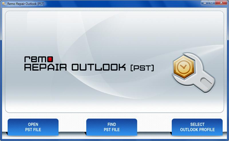 Windows 7 Remo Outlook PST File Repair Tool 3.0.0.18 full