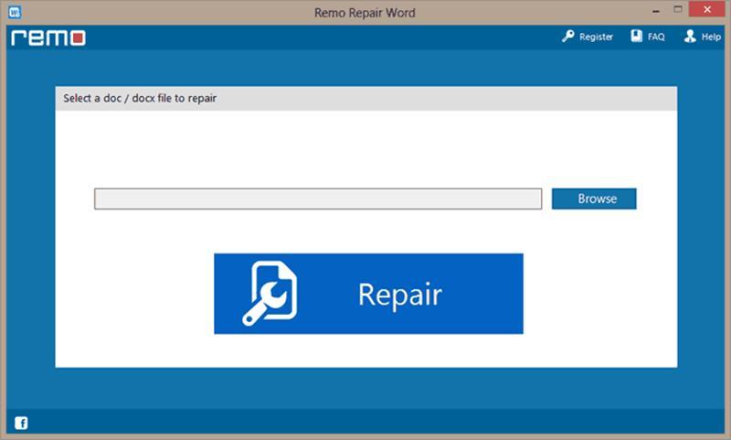 Remo Word Repair full screenshot