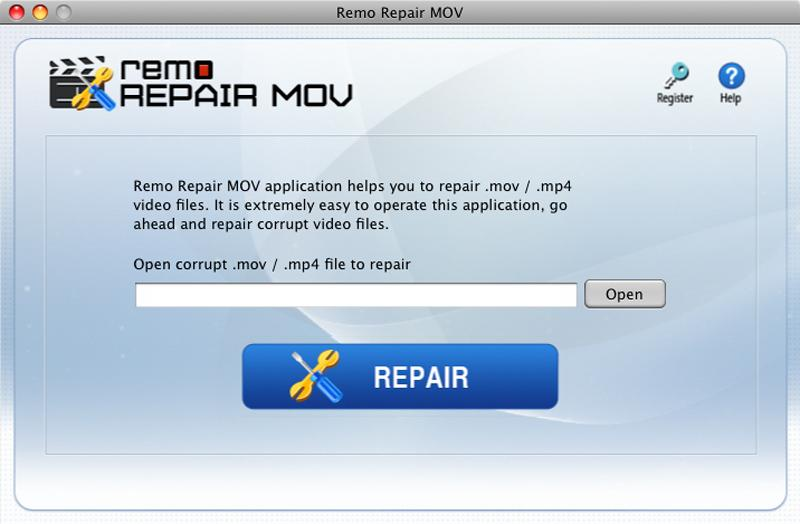 Remo MOV Repair Mac