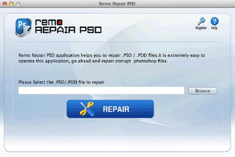 Software to fix corrupted PSD MAC record