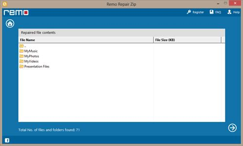 How Do I Repair Damaged WinZip Files - Preview Repaired File